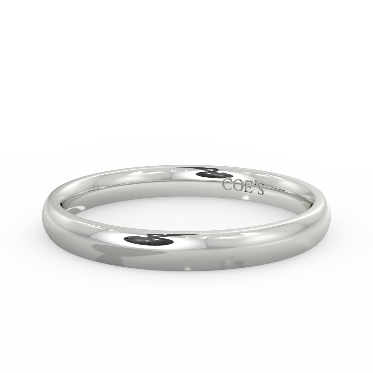Ladies Court Heavy Weight Wedding Band