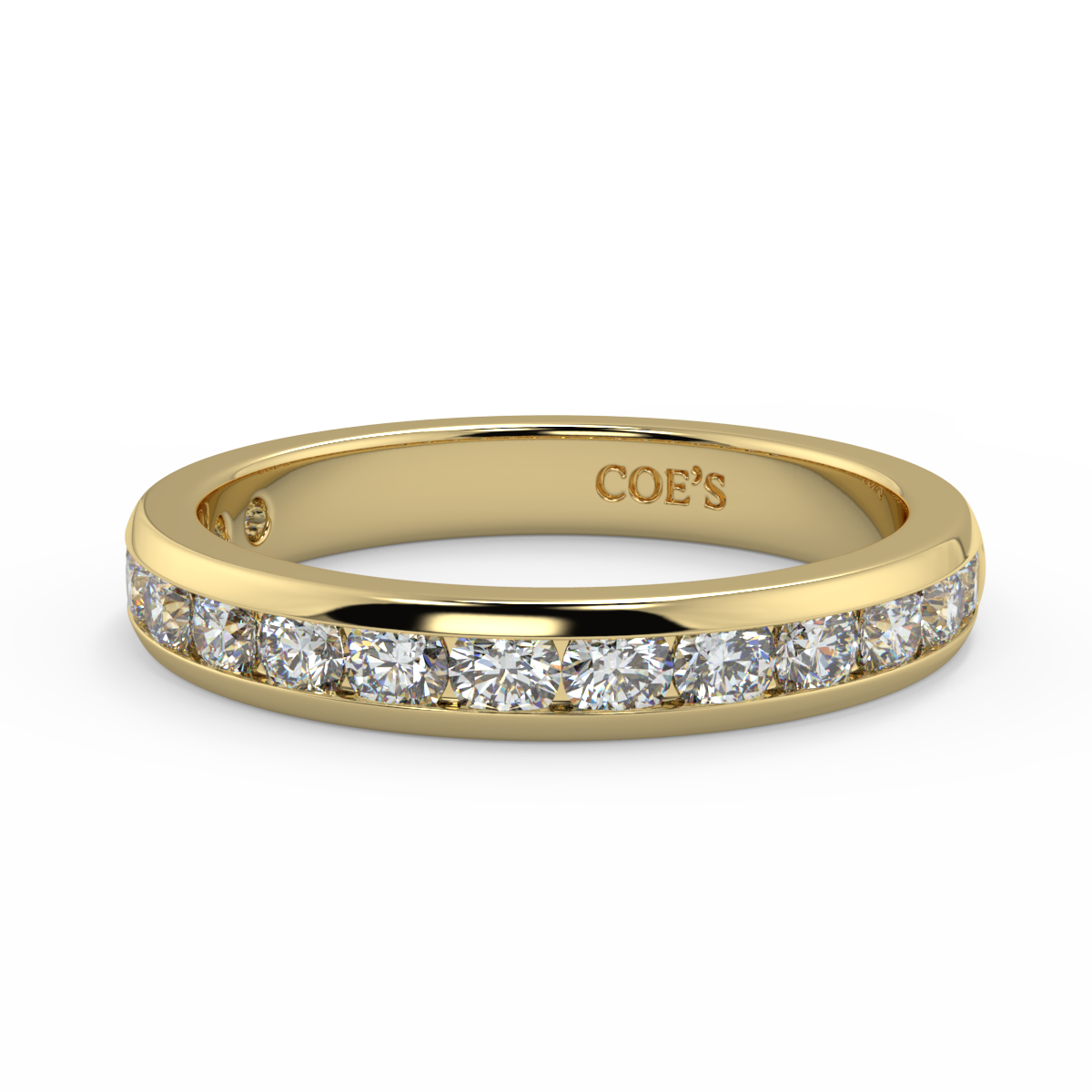 Antonia -Ladies Wedding / Eternity Diamond Ring