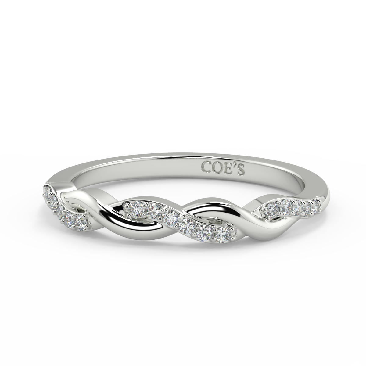 Blanche - Ladies Wedding / Eternity Diamond Ring
