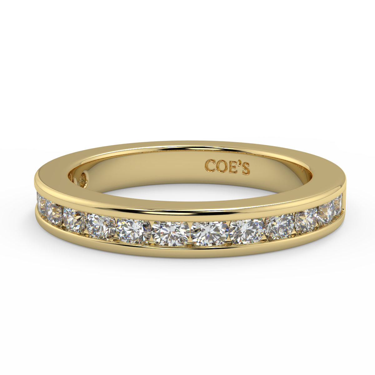 Cornelia-Ladies Wedding / Eternity Diamond Ring