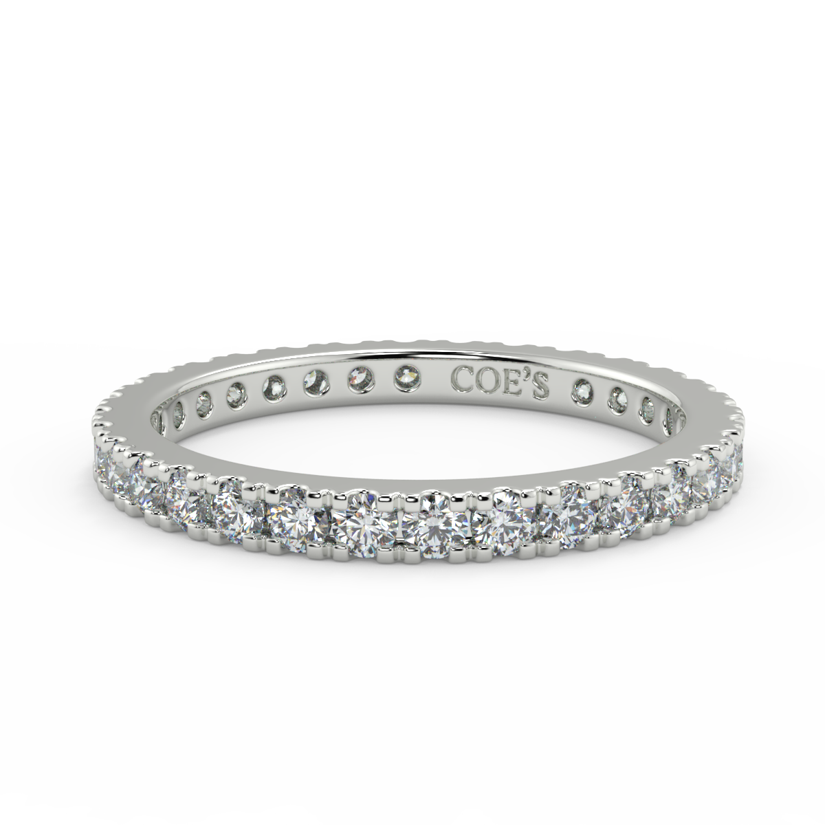Frances - Ladies Wedding / Eternity Diamond Ring